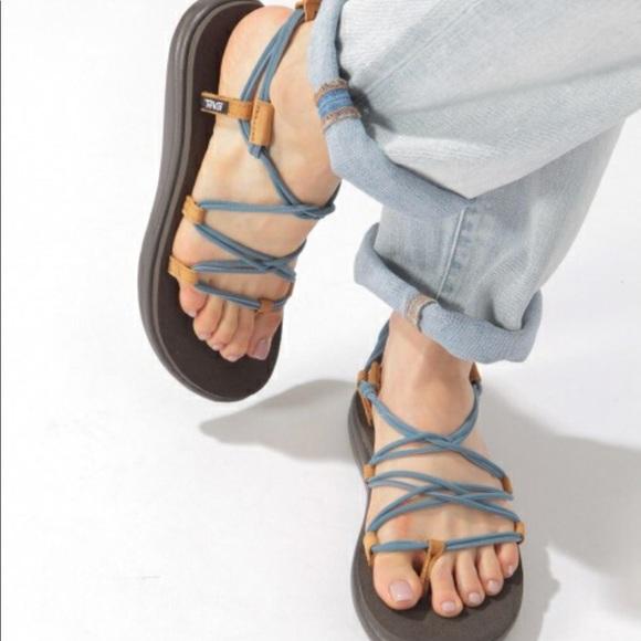 e22f8f5a2aa5 Teva voya infinity open toe stretchy sandal. M 5b29cb05951996dce7b8fef8